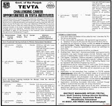 Government Of The Punjab - TEVTA Jobs 2017 - PaperPk Emejing Work From Home Fashion Design Jobs Contemporary Interior Sketching 101 How To Become A Fashion Designer Youtube Manish Malhotra Facebook Beautiful Online Web Photos Decorating Myfavoriteadachecom Designing And 5 That Wont Exist In The Future Model Pictures
