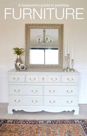 Distressed White Bedroom Furniture by Best 20 White Painted Dressers Ideas On Pinterest Chalk Paint
