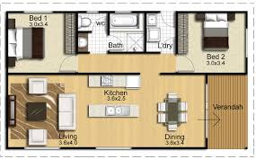 Top Photos Ideas For Small Two Bedroom House by Atlas Living Redgum 84 2 Bedroom Floorplan Future Home