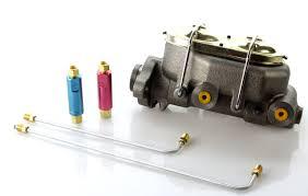 100 Chevy Truck Brake Lines 1 Bore Master Cylinder Starter Kit W 90 Degree 316