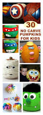 Ways To Carve A Pumpkin Fun by 30 Fun Ways For Kids To Decorate Pumpkins Without Carving Awesome