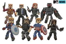 Winter Soldier Toys Reveal Villains New Look For Captain America