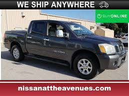 Used 2005 Nissan Titan LE W/FFV For Sale   Tampa FL 2010 Nissan Titan Se Stock 1721 For Sale Near Smithfield Ri Used Nissan Titan Xd For Sale Of New Braunfels 2017 Sv Crewcab 4x4 In North Vancouver Truck Dealership Jonesboro Trucks Woodhouse 2014 Chrysler Dodge Jeep Ram 2008 Pre Owned Las Vegas United 2015 Overview Cargurus Ottawa Myers Orlans Sv Crew West Palm Fl White 2007 4wd Cab Xe Review Innisfail