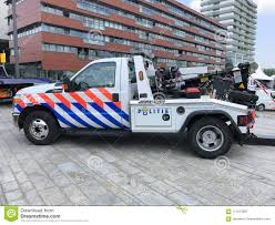100 Repo Tow Truck Dutch Ford JerrDan Police Editorial Photography Image