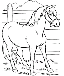 Horse Coloring Pages Best Photo Gallery For Website Free Kids