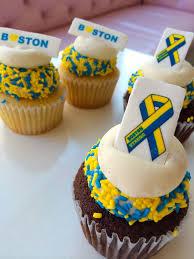 Sweet Boston Strong Cupcakes