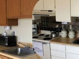 peinture meuble cuisine stratifié repeindre porte cuisine peinture marron glac au mur peinture