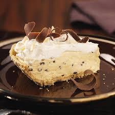 Storing Pumpkin Pie by Pumpkin Chip Cream Pie Recipe Taste Of Home