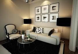 Home Decor Ideas For Small Living Room Best Design Shade Lamps Photo Frames Cream Wallpaper White