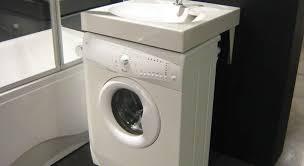 lave linge faible largeur evier faible profondeur meuble avec ouverture rabats pour