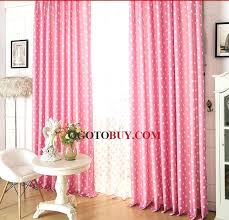 Blackout Pink Curtains Amazing Girls Bedroom Pink Polka Dots