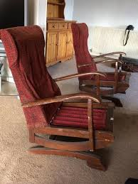 Vintage Rocking Chairs X2   In Denton, Manchester   Gumtree 1800s Victorian Walnut Red Velvet Solid Spring Rocking Leisure Made Pearson Antique White Wicker Outdoor Chair With Tan Cushions 2pack Spring Rocker Custom Cushions Daves Fniture Specific Rock On Loaded Restoration The Oldest Ive Ever Seen Pin Antiques Vintage Kaymar Swan Arm 2nd Cents Inc Restored Parker Knoll Eastlake Turned Platform Platform Mission Oak Rocker Lifetime Company Arts Crafts American C1880 Ap La100584 Loveantiquescom