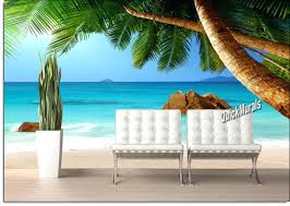 Wall Mural Decals Beach by Wall Ideas Vinyl Wall Decals Sports Stick On Wall Murals For