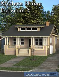 100 Contemporary House Siding Collective3d Modern Home Exterior 2 3D Models And 3D Software By