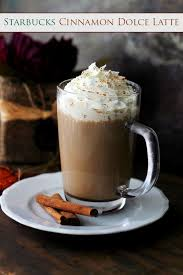 When Are Pumpkin Spice Lattes At Starbucks by Starbucks Cinnamon Dolce Latte Recipe Diethood