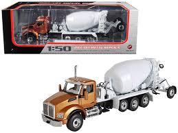 100 Mcneilus Truck And Manufacturing First Gear Diecast Kenworth T880 With McNeilus BRIDGEMASTER Mixer 50