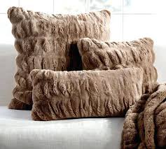 Pottery Barn Decorative Pillows Ebay by Pottery Barn Faux Fur Blanket U2013 Doublecash Me