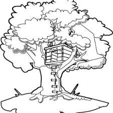 Magic Tree House Incredible Ideas Treehouse Coloring Pages How To Draw A Page