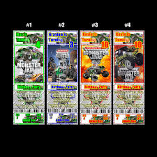 Monster Jam Ticket Style Personalized Party Invitations - $5.99 ... Birthday Monster Truck Invitations Free Templates Grave Printable Party Fresh 9 Best Trucks Blaze And The Machines Trend Jam 3d Birthdayexpress Com 3 Year Old Cstruction With Printables Vip Guest Pass Printable Insert Instant Outstanding Images Inspirational E Three Awesome