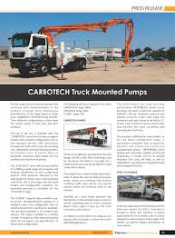 Carbo Tech: Truck Mounted Trucks