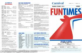 Carnival Pride Deck Plans 2015 by Carnival Valor Fun Times Western Dailies Cruise With Gambee