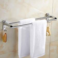tp dd doppel sus 304 edelstahl anti korrosions rost handtuchhalter stange für badezimmer küche a 40cm 16inch