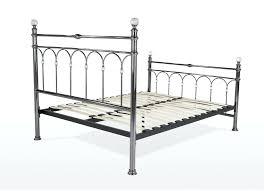 King Bed Frame Metal by Antique Metal Bed Frame U2013 Bare Look