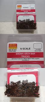 Other N Scale Parts And Accs 13294: Micro Trains 1010-10-B ~ 10 Pair ...