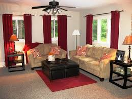 Red Living Room Ideas by Living Room Red Curtains Zamp Co