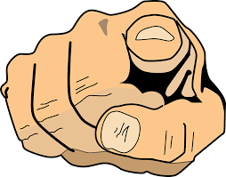 Free vector graphic You Index Finger Pointing Finger Free