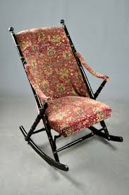 Victorian Bamboo Style Rocking Chair Red Floral Tapestry ... Victorian Bamboo Folding Screen The Annual Singapore Design Week Is Back With Over 100 Vtg Pair Parzinger Rattan Woven Chair Regency Victorian Design Mirror Antique Bamboo 3 Tier Table In Rh11 Crawley For Folding Campaign Chair Hoarde Az Of Fniture Terminology To Know When Buying At Auction French Colonial Faux Restoration Project C1900 Walnut Deck Circa A Guide Buying Vintage Patio Fniture V Studio Forest On The Roof Divisare