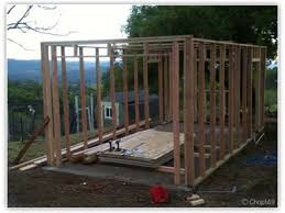 10x20 Storage Shed Plans by My Build Project 10x20 Garden Garage The Garage Journal Board