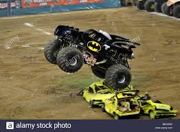100 Monster Truck Batman Jam With John Seasock Driver Stock Photo 26056029