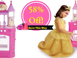 disney princess magical play kitchen only 27 reg 60