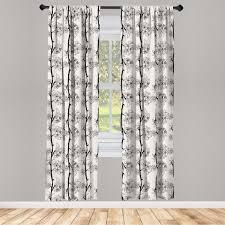 gardine fensterbehandlungen 2 panel set für wohnzimmer schlafzimmer dekor abakuhaus kirschblüte parallel ast kaufen otto