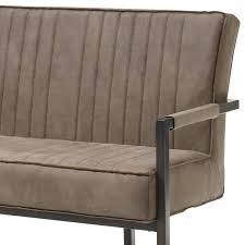 esszimmer set 6 tlg amsterdam 119 loft design tischplatte aus mango wood breite 200 cm freischwinger in taupe