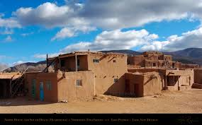 Pictures Of Adobe Houses by Taos Pueblo Adobe House South Building Plans 67463