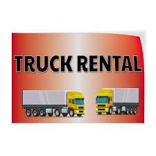 100 Truck Renta Amazoncom L Indoor Store Sign Vinyl Decal