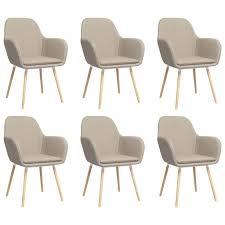 esszimmerstühle mit armlehnen set 6 küchenstuhl essstuhl