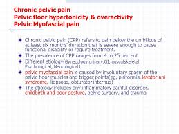 Hypertonic Pelvic Floor Muscles by T Ahadi Md Assistant Professor Of Physical Medicine Ppt Video