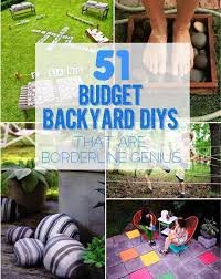 Borderline Genius Affordable Backyard Projects