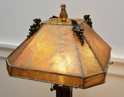 Hand Crafted Metal Mesh Lamp Shade by Templemouse Lampworks