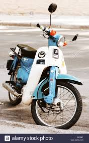 Old Classic Honda 50 Motorbike In Greecest