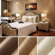 10m Wall Sticker Wave Stripe NonWoven Crescent Flocking Wallpaper Home Bedroom Living Room Decor