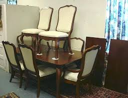 Thomasville Dining Room Chairs Set 1962 Image Design