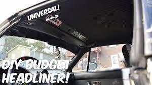 100 Truck Headliner DIY Budget Miata Hardtop YouTube