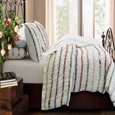 Greenland Home Bedding by Greenland Home Fashions Bella Ruffle Duvet Cover Set Walmart Com
