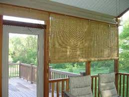 catchy outdoor bamboo curtains and diy roll up patio shades target