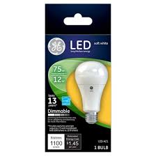 ge led 75 watt light bulb soft white target