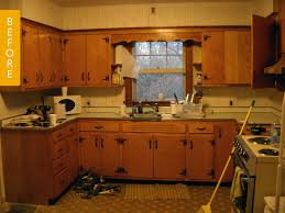 Kitchen Soffit Design Ideas by Before U0026 After A Kitchen Makeover With Stunning Diy Countertops